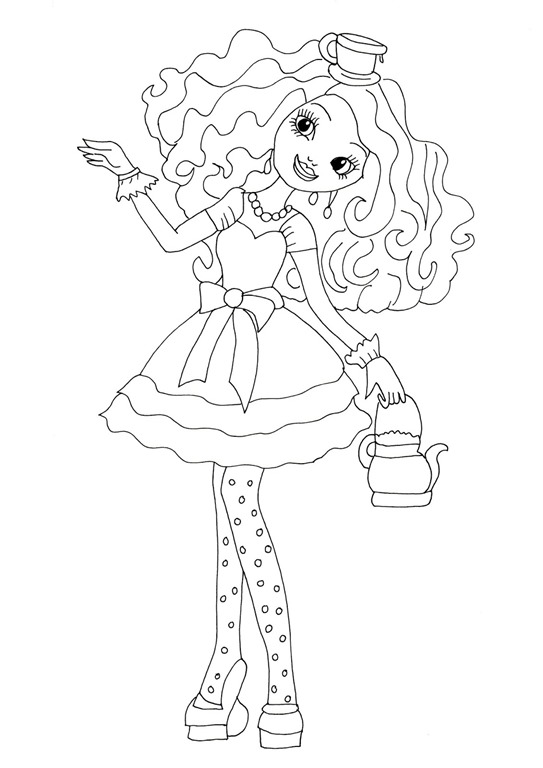 y ever after high apple