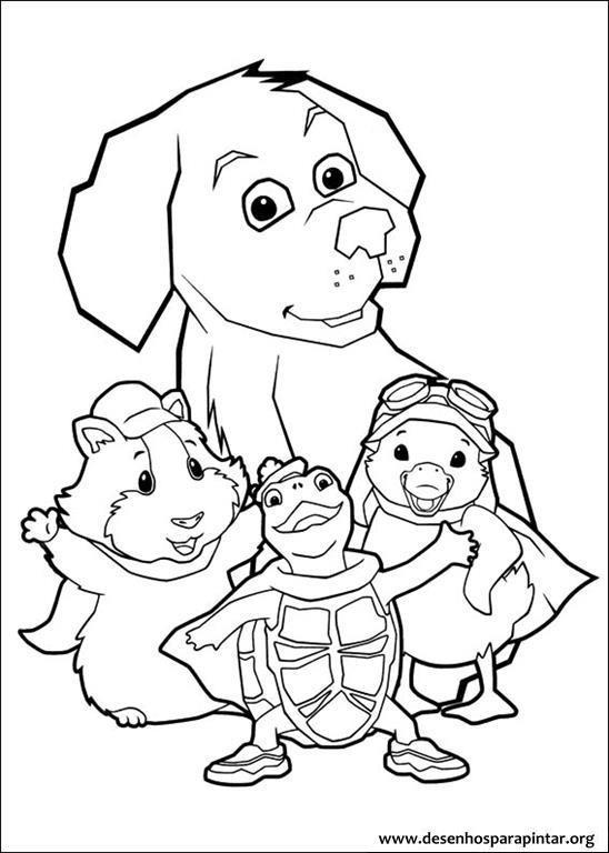 Discovery Kids Desenhos Para Pintar E Colorir