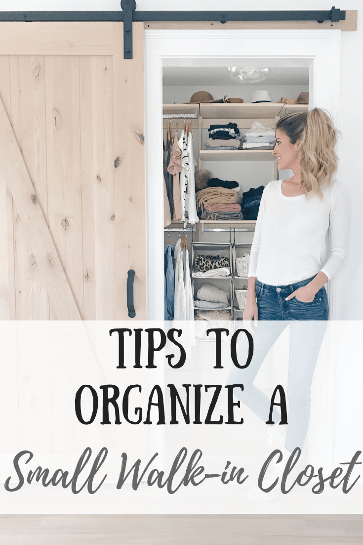 Tips For Organizing A Small Walk In Closet Pinteresting Plans