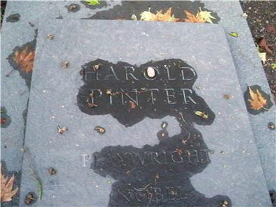 Harold's grave