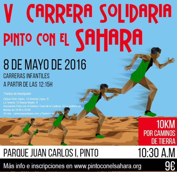 V Carrera solidaria Pinto con el Sahara