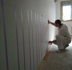 pintura paredes a rayas