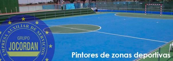 pintores de zonas deportivas
