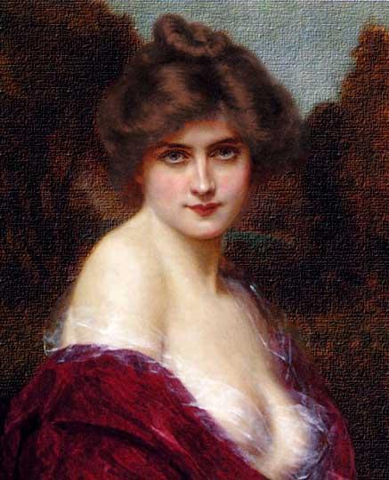 Retrato clásico estilo victoriano por Altson.