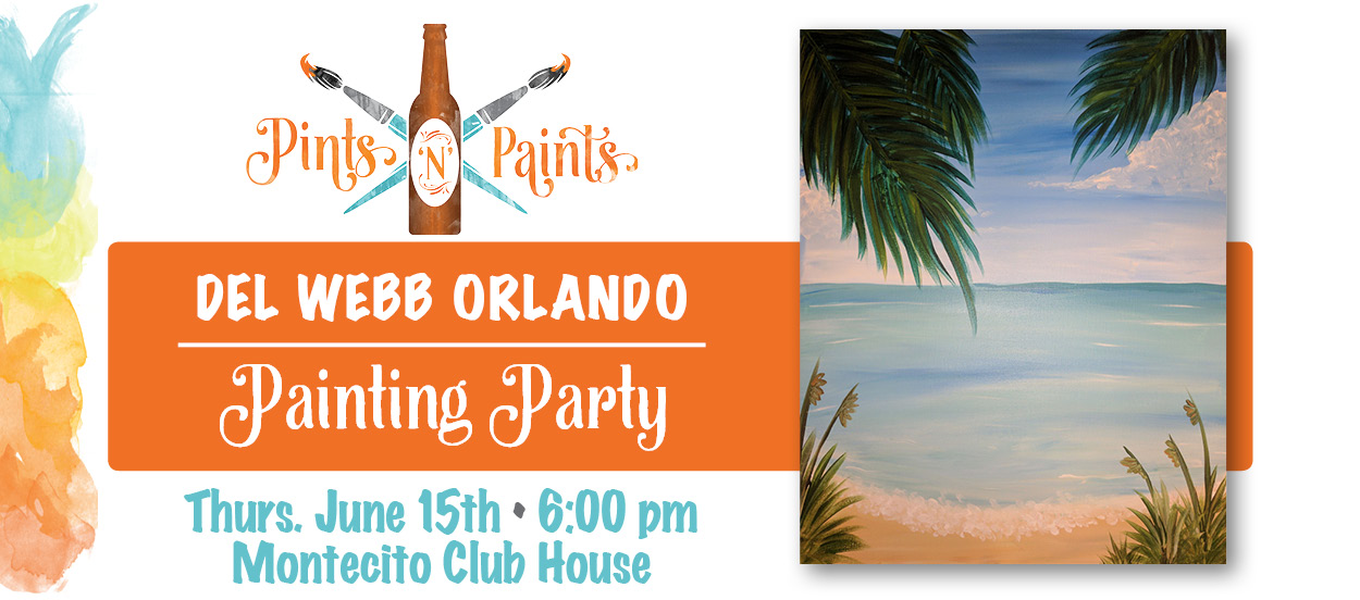 LIfe's A Beach at the Del Webb Orlando Clubhouse