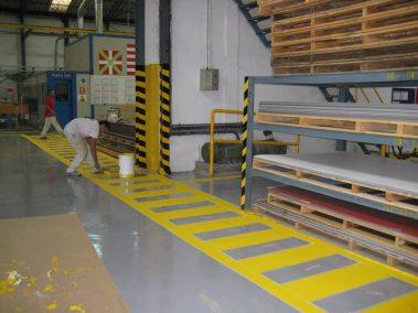 Marcaciones  fábrica Galdakao