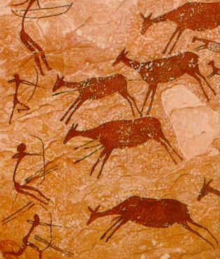 A pesar de todos los siglos que nos separan de los creadores de esta pintura rupestres, podemos comprender el mensaje.