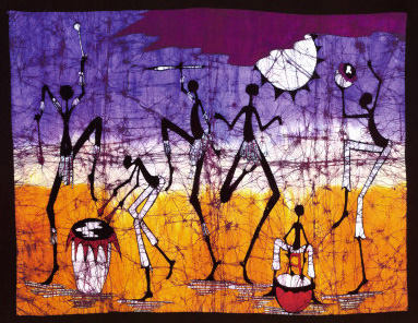 gathering-in-the-kalahari-i-print-okavango