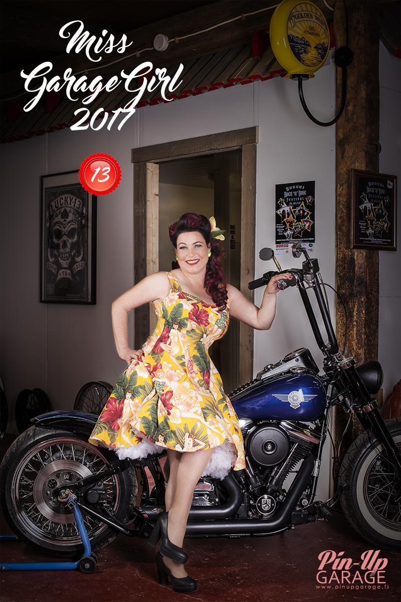 Miss Garage Girl kilpailija 13 Heli