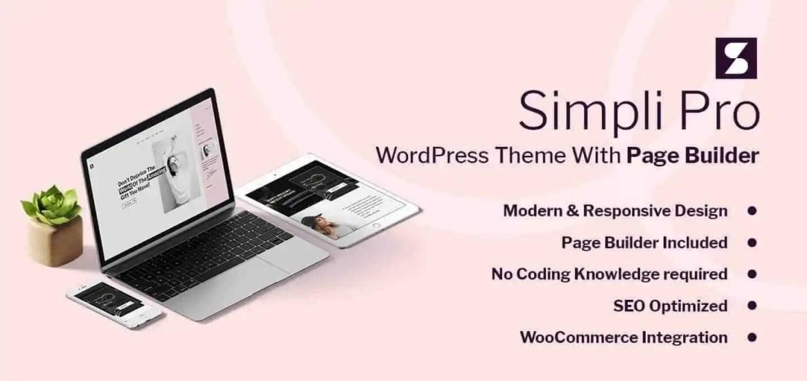 simplipro:wordpress themefürunternehmerinnen