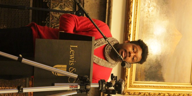 2015 A. Poulin, Jr. Poetry Prize winner Derrick Austin reads at Manor House