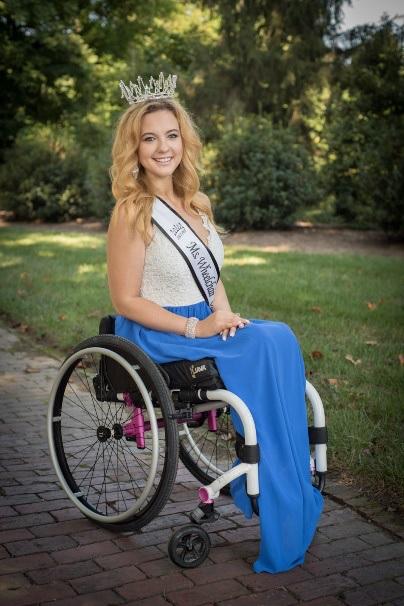 Na zdjęciu Madeline Delp - finalistka wyborów Miss Karoliny Północnej w USA