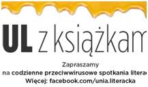 """Grafika promująca wydarzenie Unii Literackiej - """"UL z książkami"""""""
