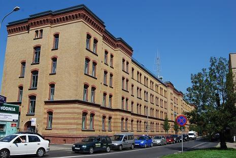Zdjęcie, Komenda Miejska Policji w Poznaniu przy ulicy Arnolda Szylinga 2
