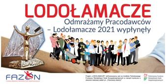 Grafika promująca konkurs Lodołamacze 2021