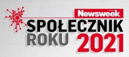 Logo konkursu Społecznik roku 2021