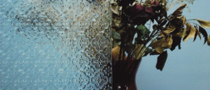 Patterned Insert Glass