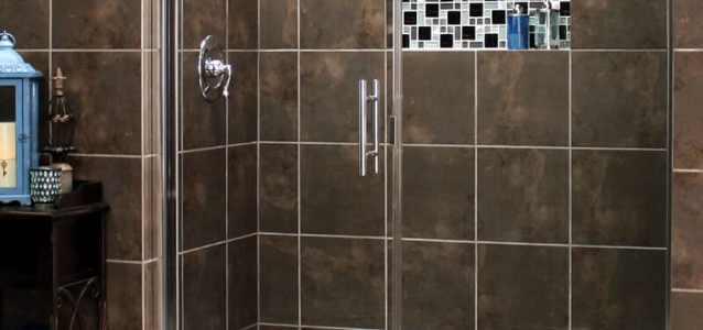 custom shower doors frameless