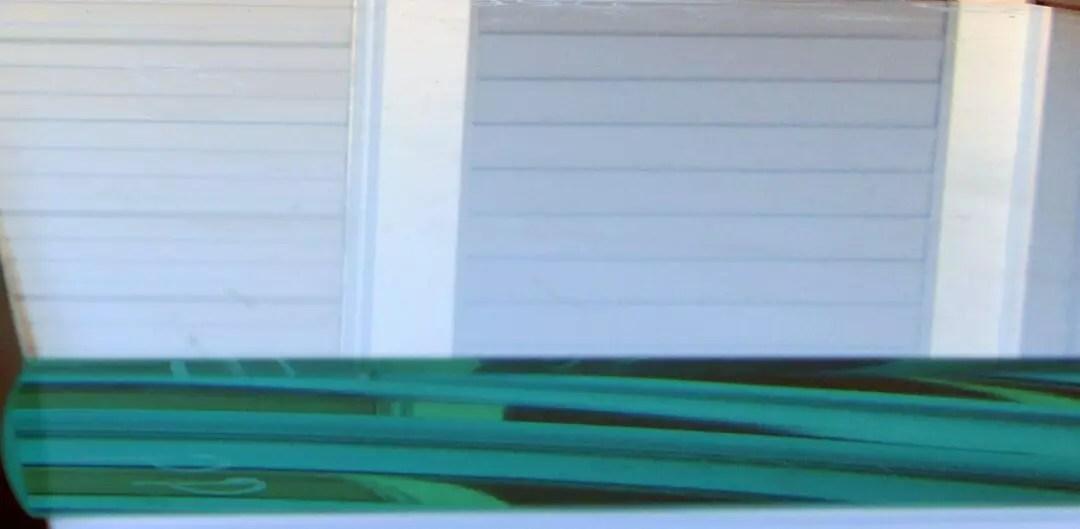 Pencil polished edge