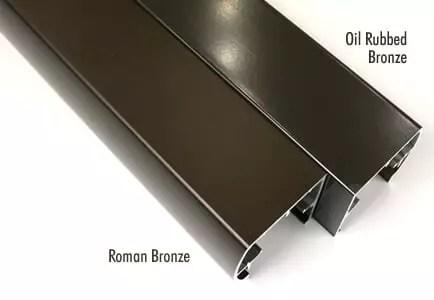 Finish- Roman Bronze vs. Oil Rubbed Bronze