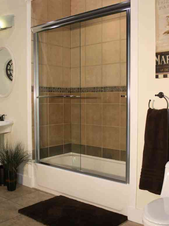 Apollo Sliding Shower Enclosures - CH-Clear - Euro image 2