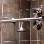 Cardinal Shower Enclosure, Skyline Empire Series Rollers
