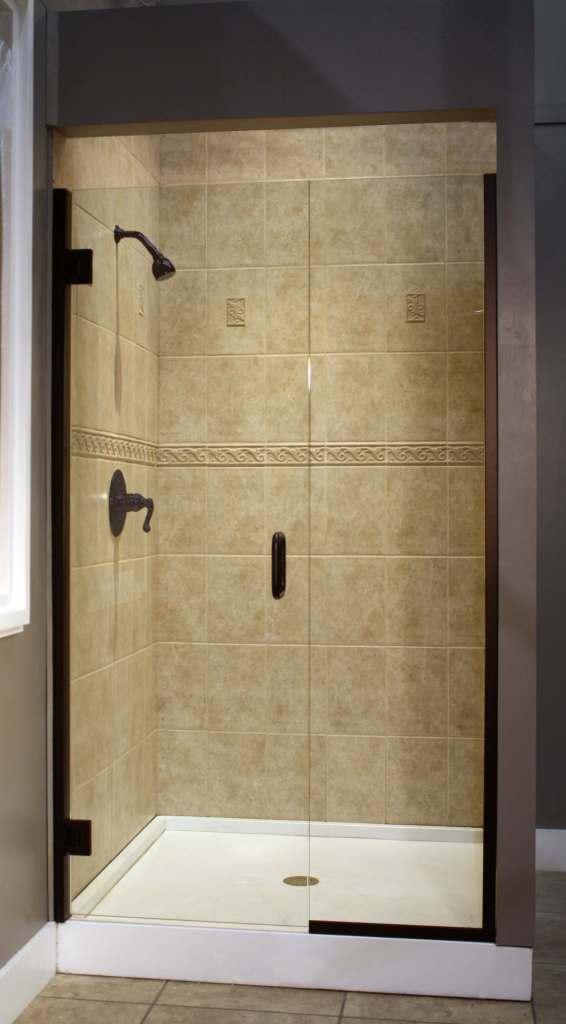 Shower Enclosure, TruFit Series - RomanBronze 2