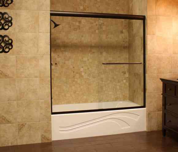 Shower Enclosures - Euro Series - TETE ORB Clear 01