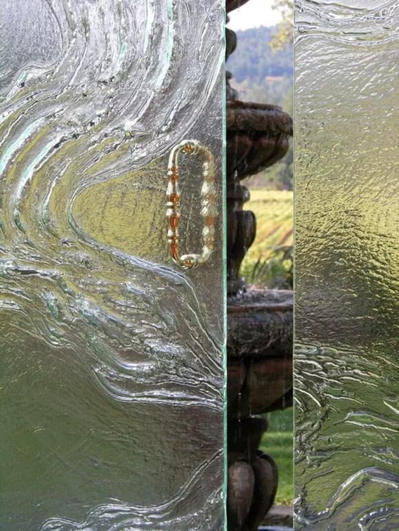 Cast Glass Shower Enclosure - Vineyard - Meander