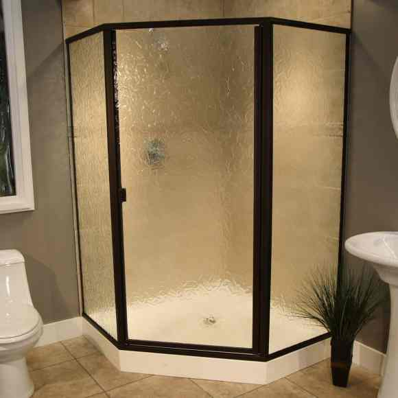 Thin Glass Pattern Shower Enclosures - Autumn, shower enclosure example