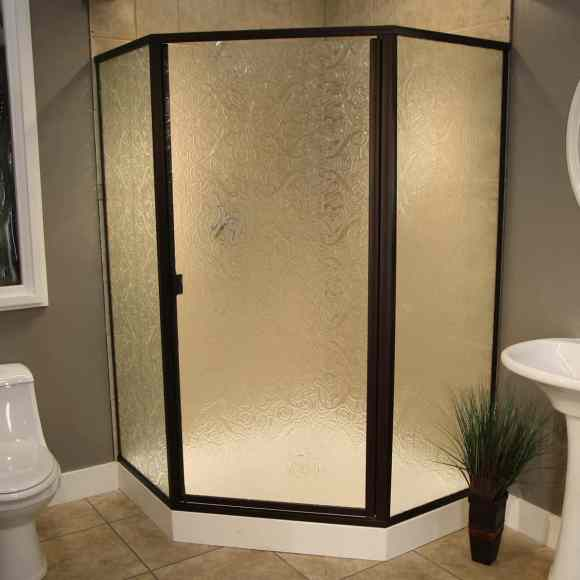 Thin Glass Pattern Shower Enclosures - Everglade, shower enclosure example