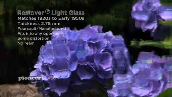 Restover® (Light)Plus: Historic Wavy Glass for Buildings and Homes Built in the 1920s Through the 1950s