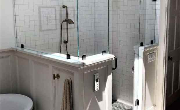 shower enclosure low iron glass