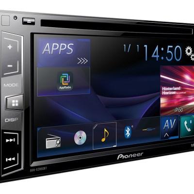 Pioneer car audio AVH-x2850bt
