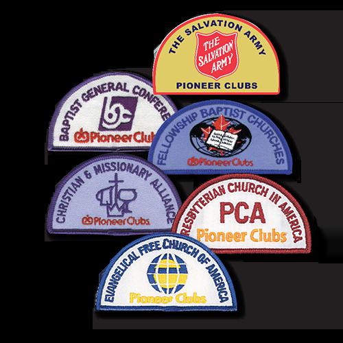 Denominational Crests