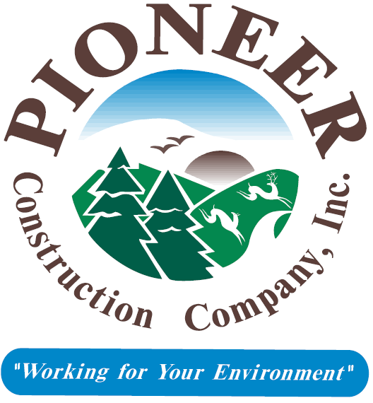 Pioneer Construction's Logo