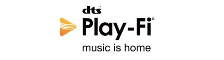 dts playfi logo
