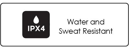 imagem de ipx4 de suor de água