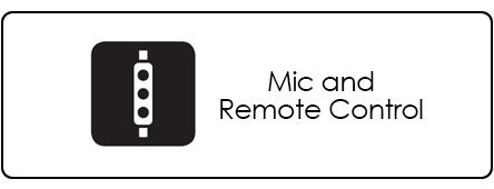 imagem de microfone de controle em linha
