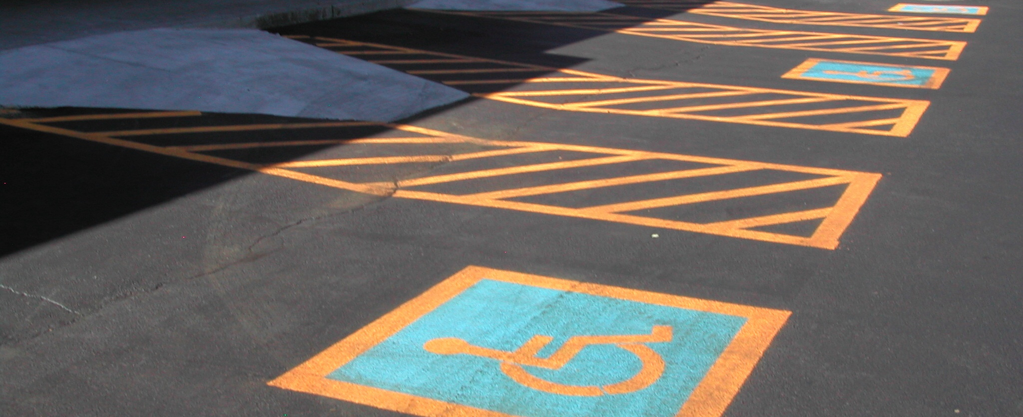 Parking Lot Striping - after
