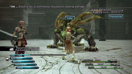 Image result for final fantasy XIII battle