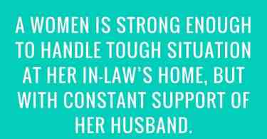 a women is strong enough
