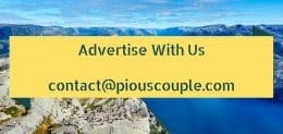 Advertise With Pious Couple