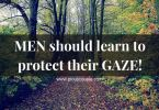 MEN should learn to protect their GAZE!