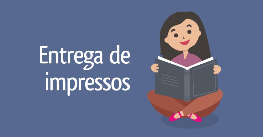 Entrega de impressos - Livraria da Pipa.