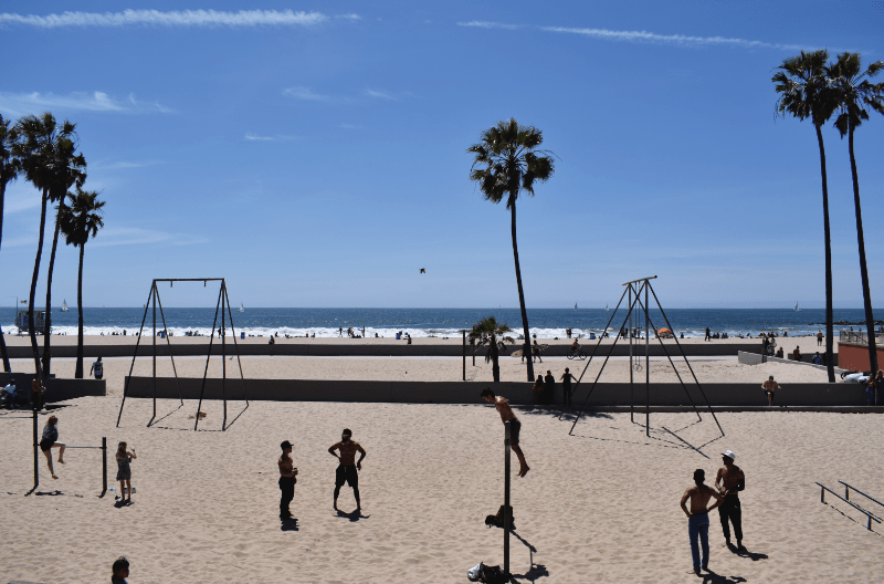 Muscle Beach Los Angeles
