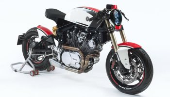 A BLAZING APE  K-Speed's Yamaha 'Monkey-Slaz' Tracker