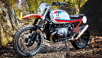 YOSEMITE SCRAM  BMW's R nineT Scrambler Takes On The Sierra