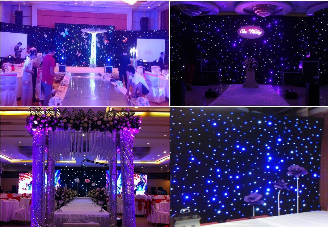 LED star light curtains