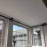 Customisable Bay Window Curtain Pole Bracket Set Industrial Pipe Style Pipe Dream Furniture